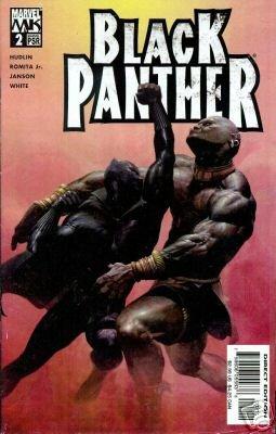BLACK PANTHER #2 HUDLIN/ROMITA JR.-NEVER READ!
