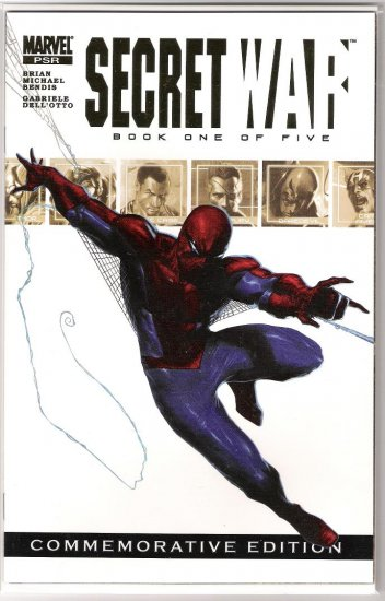 MARVEL SECRET WAR #1 COMMEMORATIVE EDITION-NEVER READ!