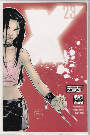X-23 #1 LIMITED EDITION BLOOD COVER-NEVER READ!