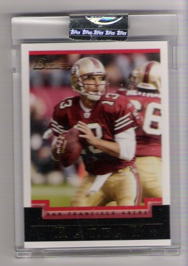 2004 BOWMAN TIM RATTAY 49ERS UNCIRCULATED CARD
