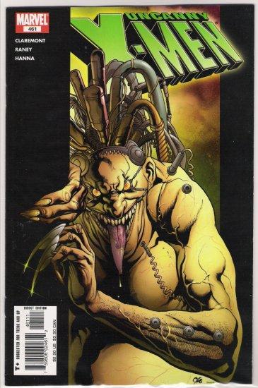 UNCANNY X-MEN #461 CHRIS CLAREMONT-NEVER READ!