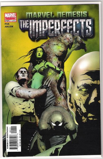 MARVEL NEMESIS THE IMPERFECTS #1 GREG PAK-NEVER READ!