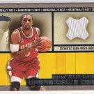2002-03 FLEER SHOWCASE BASKETBALL'S BEST SHAREEF ABDUR-RAHIM HAWKS SHORTS CARD