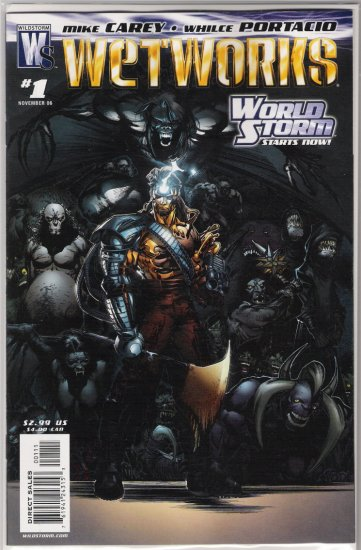 WETWORKS #1 (2006)-NEVER READ!