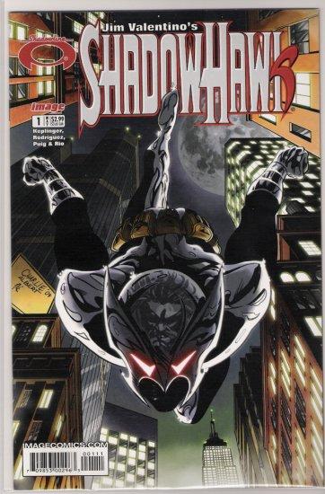 SHADOWHAWK #1 (2005)-NEVER READ!