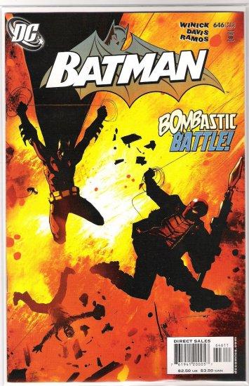 BATMAN #646-NEVER READ!