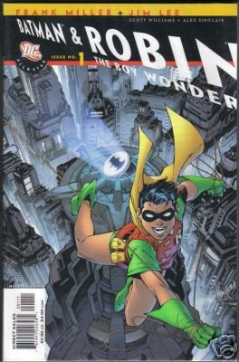 ALL-STAR BATMAN & ROBIN #1 (ROBIN COVER) FRANK MILLER-NEVER READ!