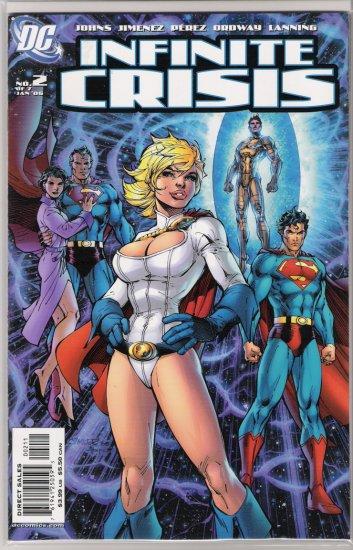 INFINITE CRISIS #2 JIM LEE COVER-NEVER READ!