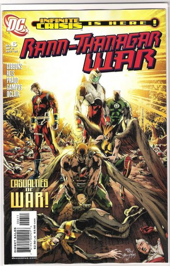 RANN THANAGAR WAR #6 (2005)-NEVER READ!