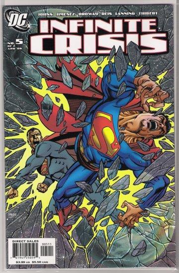 INFINITE CRISES #5 (2006) GEORGE PEREZ COVER -NEVER READ!