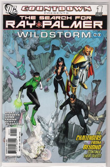 COUNTDOWN PRESENTS THE SEARCH FOR RAY PALMER WILDSTORM #1-NEVER READ!