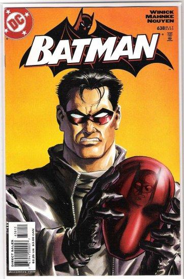BATMAN #638 (2005) RED HOOD REVEALED 2ND PRINT-NEVER READ!