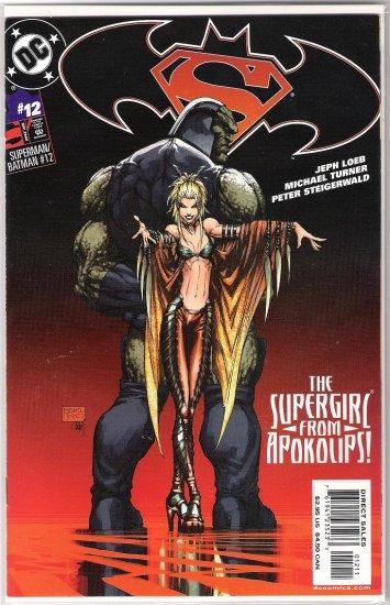 SUPERMAN/BATMAN #12 MICHAEL TURNER-NEVER READ!