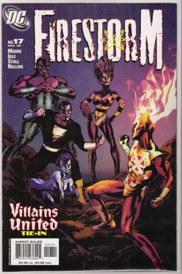 FIRESTORM #17 (2005) VILLAINS UNITED TIE IN-NEVER READ!