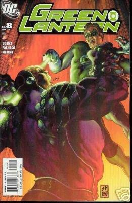 GREEN LANTERN #8 (2005) GEOFF JOHNS-NEVER READ!