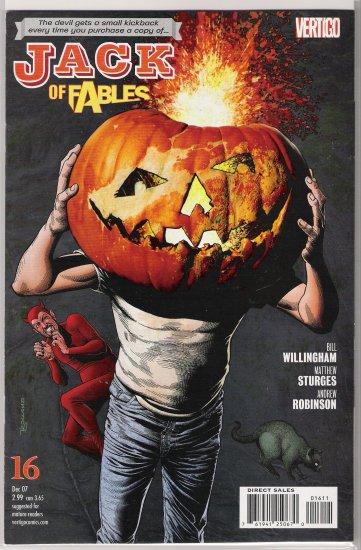 JACK OF FABLES #16 (2007) BY VERTIGO COMICS-NEVER READ!