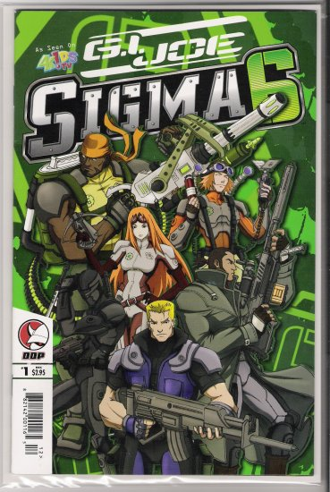 GI JOE SIGMA SIX #1 (2005)-NEVER READ!