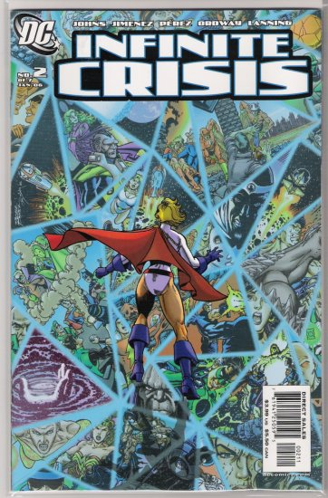 INFINITE CRISIS #2 (2006) GEORGE PEREZ COVER-NEVER READ!
