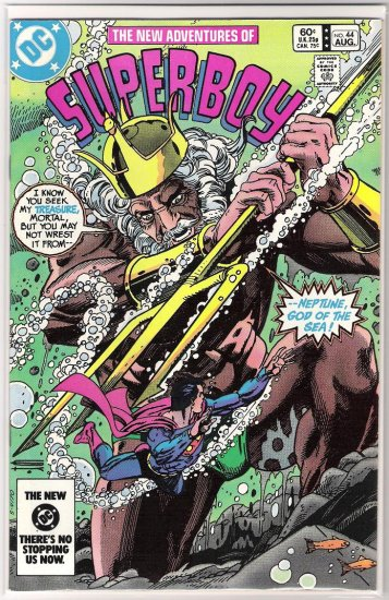 THE NEW ADVENTURES OF SUPERBOY #44 (1983)
