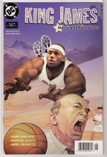 KING JAMES STARRING LEBRON JAMES (2004)-NEVER READ!