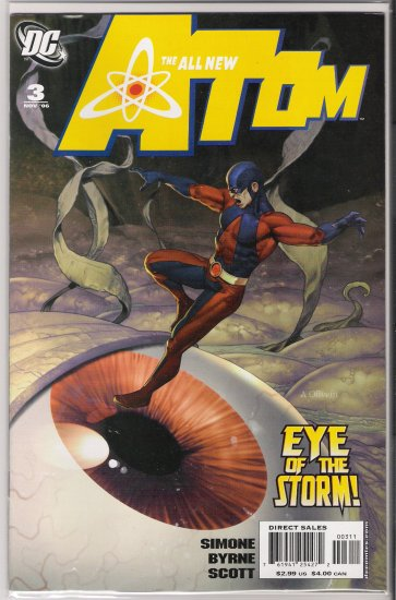 ALL NEW ATOM #3 (2006)-NEVER READ!