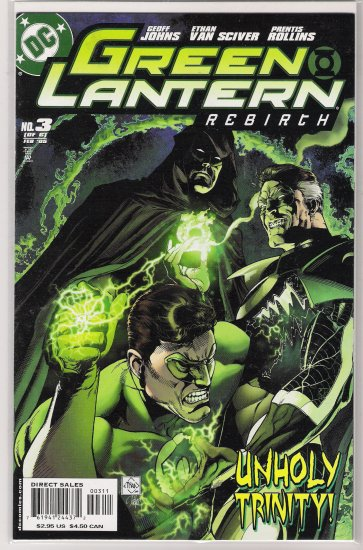 GREEN LANTERN REBIRTH #3 (2005) GEOFF JOHNS-NEVER READ!