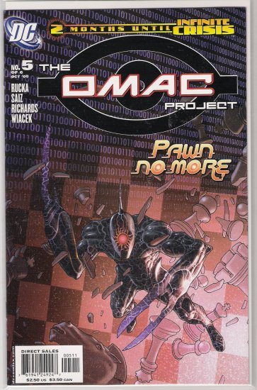OMAC PROJECT #5 (2005)-NEVER READ!