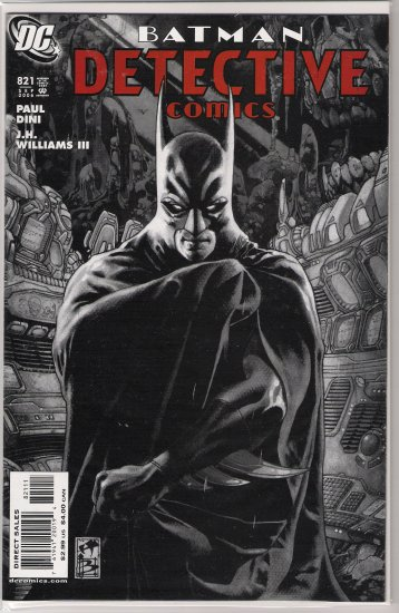 DETECTIVE COMICS #821 (2006)-NEVER READ!