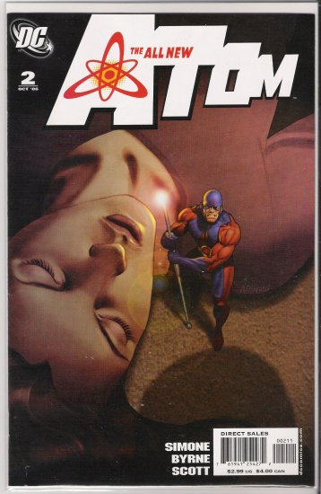 ALL NEW ATOM #2 (2006)-NEVER READ!