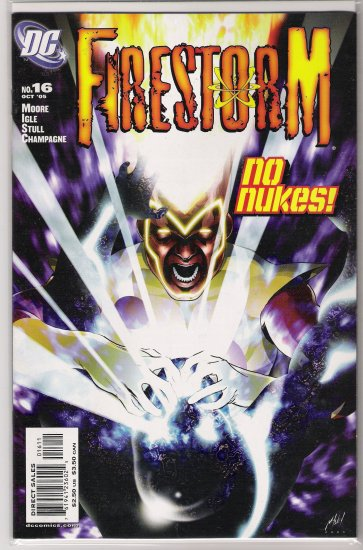 FIRESTORM #16 (2005)-NEVER READ!