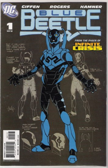 BLUE BEETLE #1 (2006) RARE 3RD PRINT-NEVER READ!