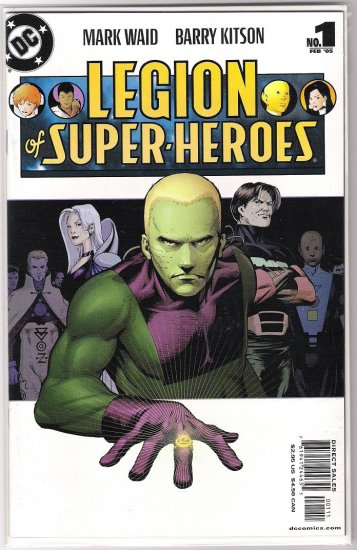 LEGION OF SUPERHEROES #1 (2005)-NEVER READ!