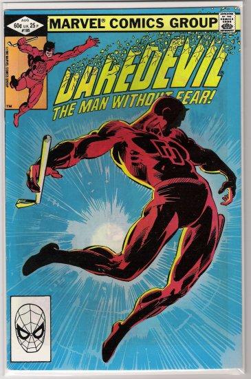 DAREDEVIL #185 (1982) FRANK MILLER-NEVER READ!