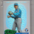 2005 TOPPS PRISTINE THE LEGENDARY YEARS CHARLIE HOUGH RANGERS UNCIRCULATED REFRACTOR CARD