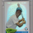 2005 TOPPS PRISTINE THE LEGENDARY YEARS MICKEY RIVERS YANKEES UNCIRCULATED REFRACTOR CARD