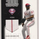 2003 PLAYOFF PRESTIGE ROBERT PERSON PHILLIES PLAYER COLLECTION GAME WORN JERSEY CARD