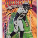 1998 TOPPS CHROME DARREIN GORDON BRONCOS QUICK SIX REFRACTOR CARD