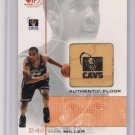 2001 UD SP GAME FLOOR EDITION ANDRE MILLER CAVS GAME FLOOR CARD