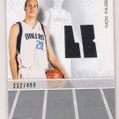 2007-08 TOPPS LUXURY BOX NICK FAZEKAS MAVERICKS ROOKIE RELIC  CARD