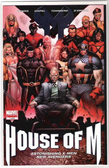 HOUSE OF M #1 COIPEL GATEFOLD COVER-NEVER READ!