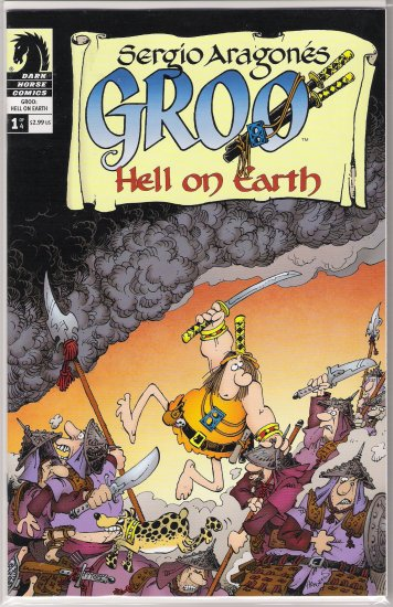 GROO HELL ON EARTH #1-NEVER READ!