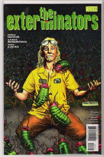 THE EXTERMINATORS #23 (2008)-NEVER READ!