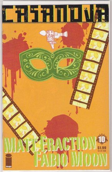 CASANOVA #10 MATT FRACTION (2007)-NEVER READ!