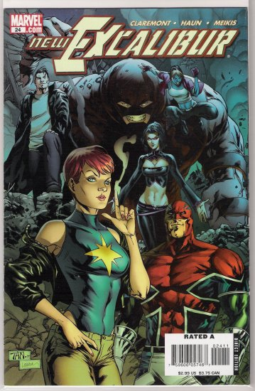 NEW EXCALIBUR #24 (2007)-NEVER READ!
