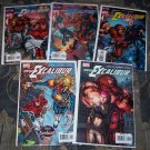 NEW EXCALIBUR LOT 1,2,3,4, AND 5-NEVER READ!