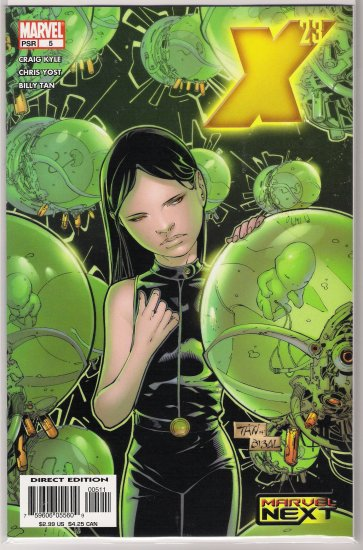 X-23 #5 (2005) BILLY TAN-NEVER READ!