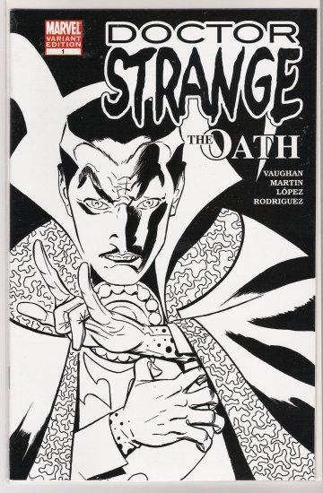 DR STRANGE THE OATH #1 DEALER VARIANT INCENTIVE COVER-NEVER READ!
