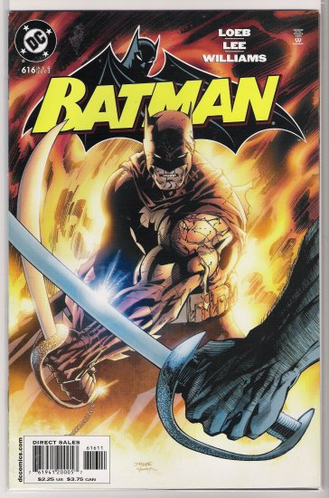 BATMAN #616 HUSH JEPH LOEB JIM LEE-NEVER READ!