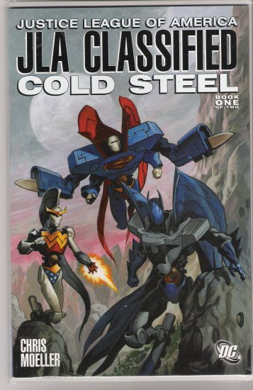 JLA CLASSIFIED COLD STEEL BOOK ONE (2005)-NEVER READ!