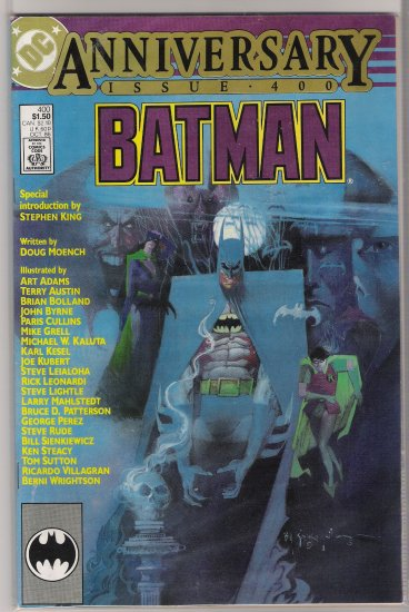 BATMAN #400  (1986) ANNIVERSARY ISSUE STEPHEN KING